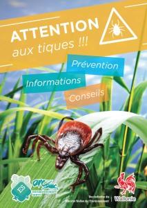 Brochure préventive adultesur les tiques